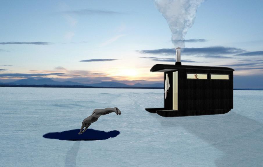3D 905 Переносная Финская сауна. + Видео процесса строительства. otdyih na prirode