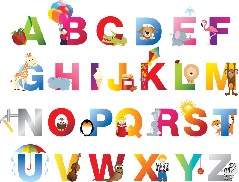 Abc Alphabet Poster Joingateillustration Com