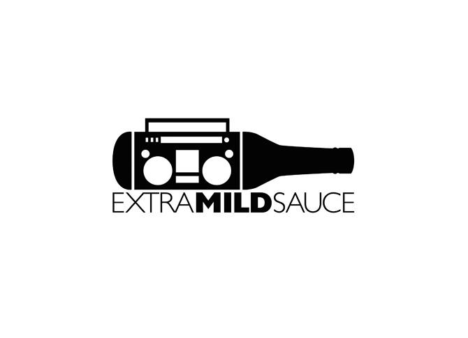 Sauce Logo a Logo For Extra Mild Sauce