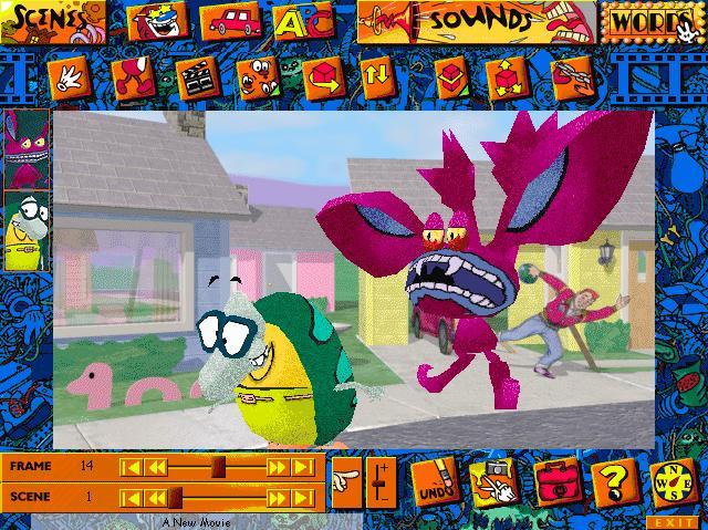 Nickelodeon 3d Moviemaker Brigitte Samson