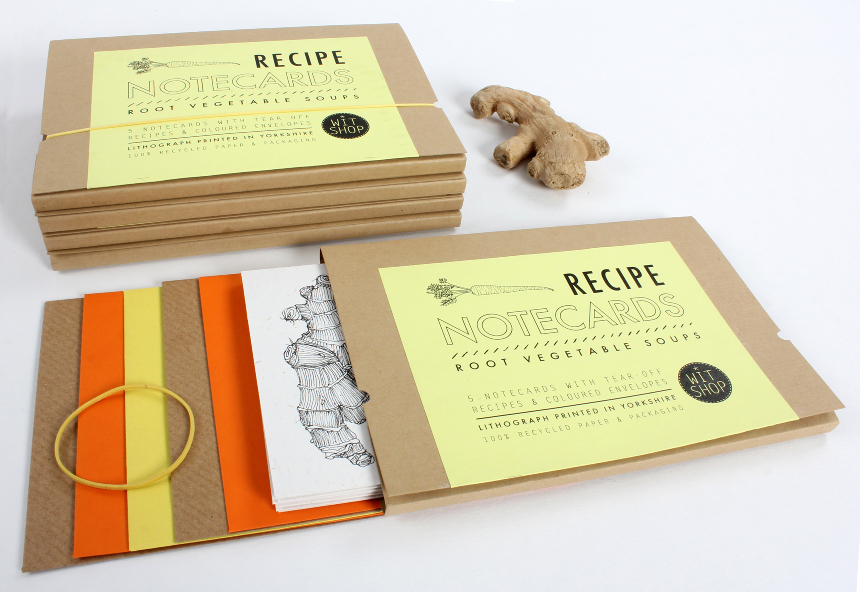 wit shop recipe notecards - root vegetable soups